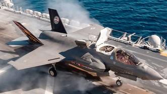 Máy bay F-35B phiên bản dùng cho Thủy quân lục chiến Mỹ. Ảnh: Lockheed Martin