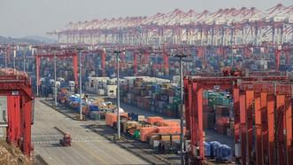 Ảnh minh họa của Bloomberg: Mỹ đã áp thuế hàng trăm tỷ USD hàng hóa từ Trung Quốc