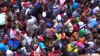 Mexico chấp nhận phụ nữ và trẻ em di cư Honduras