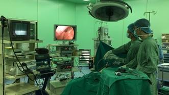 Phẫu thuật ca u mạc treo hiếm gặp