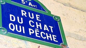Lịch sử Paris qua biển đường, tên phố