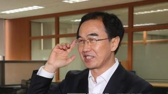 Bộ trưởng Bộ Thống nhất Hàn Quốc Cho Myoung-gyon. Ảnh: YONHAP/TTXVN