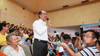 Đại biểu Cao Thanh Cao đề nghị xử lý nghiêm khắc đối với những cá nhân đã không tuân thủ theo nghị quyết, chủ trương chính sách của Đảng và pháp luật của Nhà nước khi thực hiện KĐTM Thủ Thiêm. Ảnh: DŨNG PHƯƠNG