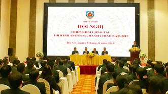 Phó Thủ tướng Trương Hòa Bình dự Hội nghị triển khai thi hành án dân sự, hành chính