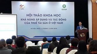 Viện trưởng Viện Nghiên cứu kinh tế và chính sách, TS Nguyễn Đức Thành, phát biểu khai mạc hội thảo