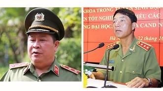 Ông Bùi Văn Thành (bên trái) và ông Trần Việt Tân bị khởi tố về tội Thiếu trách nhiệm gây hậu quả nghiêm trọng