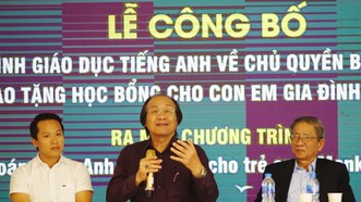 Ra mắt chương trình giáo dục tiếng Anh về chủ quyền biển đảo Việt Nam
