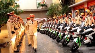 Công an TP Hà Nội đồng loạt ra quân trấn áp tội phạm