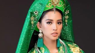 Hoa hậu Tiểu Vy mang điệu múa chầu văn đến Miss World