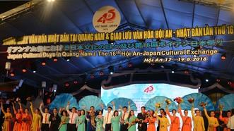 """Khai mạc """"Những ngày văn hóa Nhật Bản tại Quảng Nam"""""""