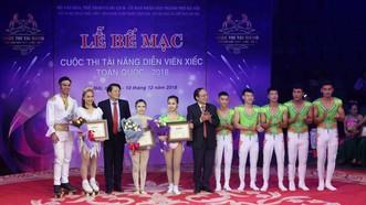 15 tiết mục được trao giải cuộc thi tìm kiếm tài năng xiếc toàn quốc 2018