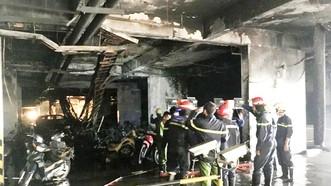 Cư dân chung cư Carina Plaza được về nơi ở cũ sau 7 tháng xảy ra cháy