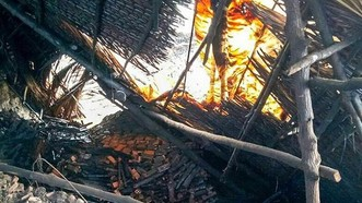 Cà Mau sạt lở, sập nhiều lò than của dân