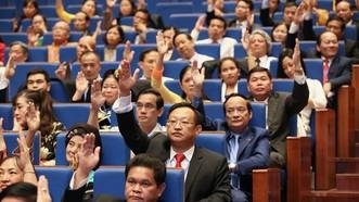 Đại biểu hiệp thương cử Uỷ ban Trung ương MTTQ Việt Nam khóa IX