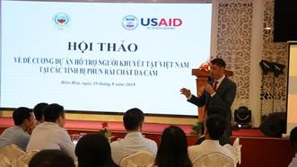 50 triệu USD hỗ trợ nạn nhân chất độc da cam tại 7 tỉnh bị phun rải chất độc da cam