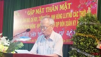 Thiếu tướng Phan Khắc Hy chia sẻ cảm xúc tại buổi gặp mặt