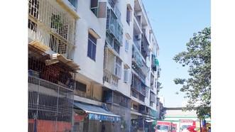 Chung cư bị nghiêng, TPHCM di dời khẩn cấp 38 hộ dân