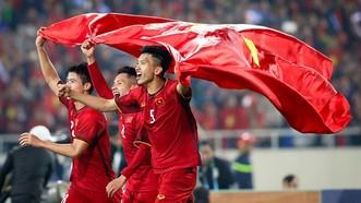 越南足球隊名列世界第九十九位。(圖源:互聯網)