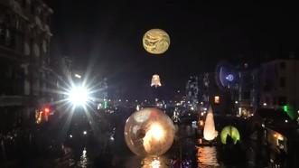 一年一度的威尼斯狂歡節當地時間16日晚在意大利北部水城威尼斯拉開帷幕。(圖源:視頻截圖)