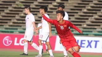 陳名忠為越南隊扳平比分1-1。(圖源:互聯網)