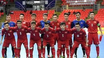 越南五人制足球U20隊。(圖源:互聯網)