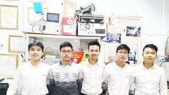 KSV Team的五成員。