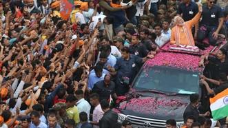 當地時間5月23日,印度2019年大選終於落下帷幕。現任總理莫迪率領的人民黨陣營取得大勝。(圖源:互聯網)
