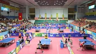 乒乓球錦標賽比賽場景。(圖源:互聯網)