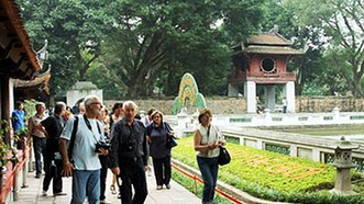 河內市旅遊廳:自年初至今,前來該市的遊客量概算達近1440萬人次,同比增9.5%。(示意圖源:互聯網)