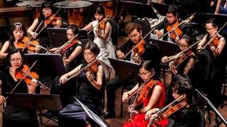 圖為西貢年輕交響樂團(SPYO)。(圖源:N.Hoa)