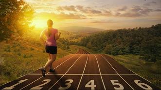每天3300步  健身效果好。(示意圖源:互聯網)