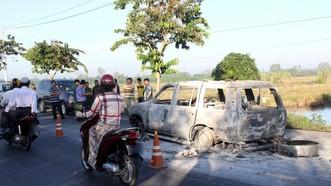 Y án vụ con gái thuê người đốt xe khiến cha ruột tử vong