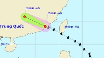 Bão Bailu đổ bộ vào Trung Quốc suy yếu thành vùng áp thấp, Trung bộ nắng trở lại