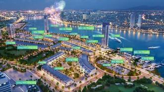 Phối cảnh dự án Marina Complex được giới thiệu trên website datxanhdanang.vn