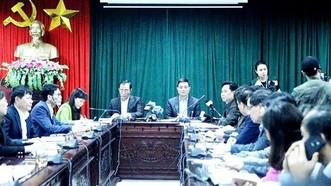 Lãnh đạo cục và lãnh đạo huyện đã nói gì tại cuộc họp báo vụ hàng trăm trẻ nhiễm sán heo?