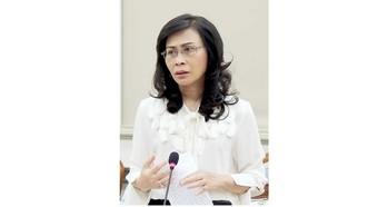 Phó Chủ tịch UBND TPHCM Nguyễn Thị Thu. Ảnh: HOÀNG HÙNG