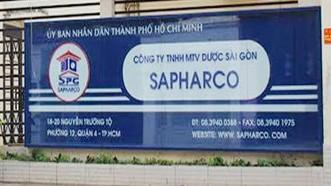 Bắt kế toán Sapharco tham ô