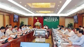 225 tổ chức đảng và 555 đảng viên có khuyết điểm