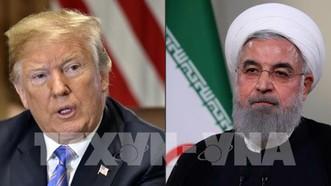 Tổng thống Mỹ Donald Trump (phải) và Tổng thống Iran Hassan Rouhani (phải). Ảnh: AFP/TTXVN