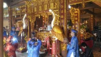 Tiến hành nghi thức lễ giỗ