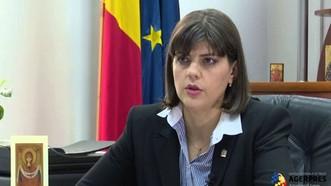 Bà Laura Kodruta Kovesi, nhân vật số 1 của Cơ quan chống tham nhũng Romania (DNA). Ảnh: AGERPRES