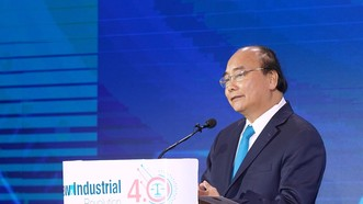 Thủ tướng Nguyễn Xuân Phúc phát biểu tại Hội thảo. Ảnh: VGP