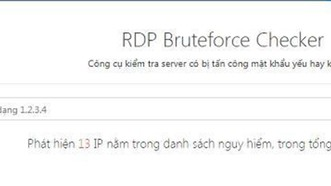 Bkav phát hành công cụ kiểm tra độ an toàn của server