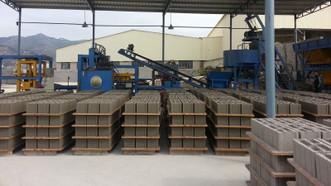 Sản xuất vật liệu xây dựng từ tro xỉ nhiệt điện