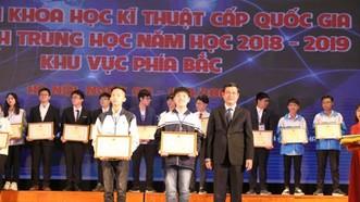 Bộ GD-ĐT không thay đổi kết quả cuộc thi khoa học kỹ thuật cấp quốc gia