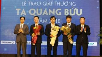 3 nhà khoa học đoạt Giải thưởng Tạ Quang Bửu 2019