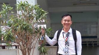 """Chàng trai khiếm thị Đinh Văn Lộc, tác giả chính của dự án """"Em cần bảo vệ"""""""