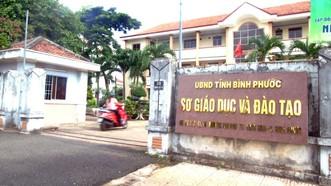 Sở GD-ĐT tỉnh Bình Phước đã để xảy ra hàng loạt sai phạm trong công tác cử tuyển