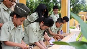 Giáo dục kỹ năng cho học sinh tiểu học