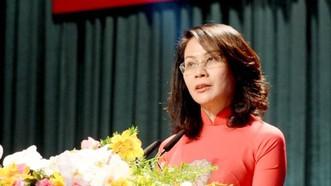 Phó Chủ tịch UBND TPHCM Nguyễn Thị Thu. Ảnh: Tuoitre/T.TRUNG